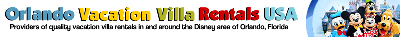 Orlando Vacation Villa Rentals - Providers of quality vacation villa rentals in and around the Disney area of Orlando, Florida.